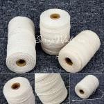 Хлопковый шнур, цвет: натуральный, толщина 1 мм., цена за 1 метр, SN000159