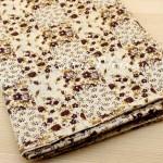 Ткань Цветочки на кремовом фоне, размер отреза ткани 50х50 см., 100% хлопок, TK000116