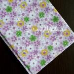 Ткань Цветочки на сиреневом фоне, размер отреза ткани 50х50 см., TK000126