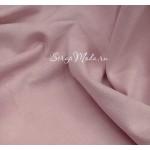 Замша искусственная, цвет Пыльно-розовый, отрез размером 36х53см(+/- 1см), тонкая, TK000158