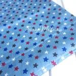 Ткань   звездочки на серо-голубом фоне, размер отреза ткани 40х51 см., отличная ткань для блокнотов и альбомов,  100% американский хлопок, TK000176