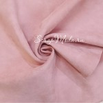 Замша двусторонняя, искусственная, цвет Детский Розовый, размер 35х52см, плотная, плотность 340 гр., TK000261