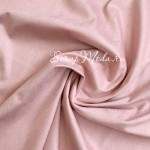 Замша двусторонняя, искусственная, цвет Розовая Колыбель, размер 35х50см(+/- 1см), плотная, TK000263