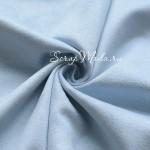 Замша двусторонняя, искусственная, цвет Детский Голубой, размер 55х74см, плотность 260 гр., TK000269