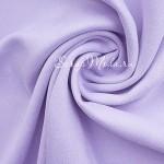 Замша двусторонняя, искусственная, цвет Нежная сирень, размер 52х73см, плотность 260 гр., TK000275