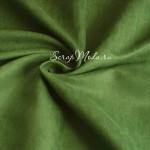 Замша двусторонняя, искусственная, цвет светлая Травянистая зелень, размер 37х50см(+/- 1см), TK000346