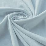 Замша двусторонняя, искусственная, цвет Бледно-Голубой (разбеленный), размер 42х73см(+/- 1см), TK000357