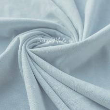 Замша двусторонняя, искусственная, цвет Бледно-Голубой (разбеленный), размер 25х74см(+/- 1см), TK000353