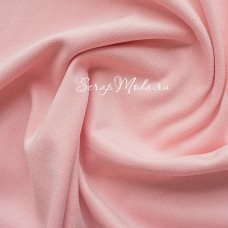 Замша двусторонняя, искусственная, цвет Пудровый-розовый (разбеленный), размер 36х48(+/- 1см), TK000360