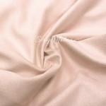 Замша двусторонняя, искусственная, цвет Кремовая Роза,  размер 50х70см, TK000406