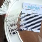 Надпись из термотрансфера Passport, пленка зеркальное серебро, размер общий  8,5х6,8см., TR000042