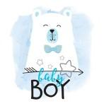 Термонаклейка для декорирования текстильных изделий детская Baby Boy размер 14х14 см АртУзор, TN000241