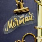 Надпись из термотрансфера Мечтай, пленка зеркальное  золото, размер общий 6,5х2 см., TN000454