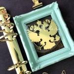 Рисунок из термотрансфера Герб, пленка зеркальное золото, размер общий 6х6 см., TN000564