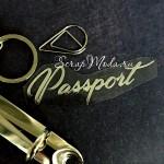 Надпись из термотрансфера Passport756, пленка зеркальное серебро, размер 7х2см., TN000756