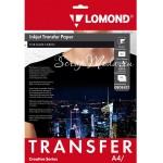 Термотрансферная бумага для тёмных тканей, размер 210х297 мм.,  Lomond, цена за 1 лист, TR000045