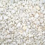 Декоративные камни, Натуральная Галька, Белая, размер от 20 до 40 мм., 550 гр.