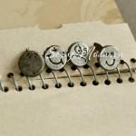 Набор Брадс Смайлики 1874, металлические, 12 мм., в наборе 4 шт.