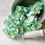 Цветы Вишни мятные с тычинками, 25 мм., 5 шт., UC002077