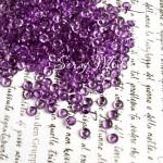 Марблс, капельки Фиолетовые, полупрозрачные, 5 мм., 50 шт., UC002229