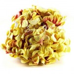 Гардения с тычинкой, бледно-желтые, 46 мм., 5 шт., длина ножки 120 мм., Prima Marketing. UC002267