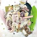 Набор Чипборд  Butterfly Collection 38 шт. Prima Marketing. UC002473