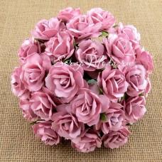 Роза кудрявая, щербет, 30 мм, цена за 1 шт., UC002505