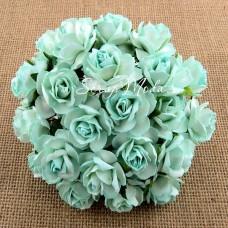 Роза кудрявая, мятная, 30 мм, цена за 1 шт., UC002506