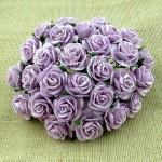 Роза, сиреневая,  25 мм, цена за 1 шт., UC002675