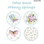 "Набор фишек ""Fancy Spring"", 4 шт., Mona Design, UC002588"