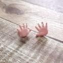 Брадс Baby Ладошки, розовые, цена за 1 пару., 1 см., Artemio, UC002646