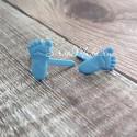 Брадс Baby Ножки, голубые, цена за 1 пару, 1 см., Artemio, UC002648