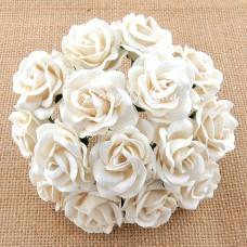 Роза chelsea, белая,  35 мм, цена за 1 шт., UC002678