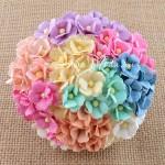 Цветы вишни2, Shabby, 15 мм, цена за 5 шт., UC002775
