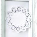 Бумажная Ажурная Салфетка, Диаметр 100 мм., белые, 10 шт., UC002824
