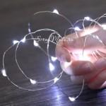Гирлянда светодиодная, холодный свет, 3 м, батарейки комплекте, 1 режим, UC002859