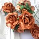 Роза Cottage Коричневая,  30 мм, цена за 1 шт., UC002878