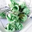 Роза бутон мятный, 20 мм, цена за 1 шт., UC002881