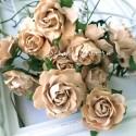 Роза Cottage серо-бежевая, 30 мм, цена за 1 шт., UC002882