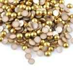 Полубусины Gold, 6 мм., 30 шт., UC002895