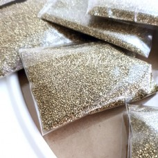 Песок декоративный, золото, цена за 50 гр.,UC002936