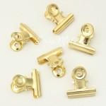 Зажим золото, металлический, размер зажима 2,5х2,8 см, цена за 1 шт. UC002937