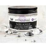 Акриловые капли-украшения - Melange - Art Rebbles Prima Marketing, В наборе 46 разных по размеру капель. Размер капель от 6 мм до 12 мм, UC002950