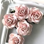 Роза chelsea, цвет:пыльная роза, размер 45 мм., цена за 1 шт., UC003071
