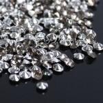 Кристаллы, цвет:серый, размер 3 мм., 5 гр., UC003127