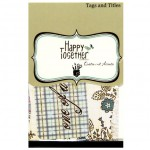 Тег-Набор, Happy Together 151, 70x115 мм., 12 шт., Fancy Pants designs