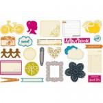 Набор Высечек Amy Tangerine 319, 24 шт., American Craft