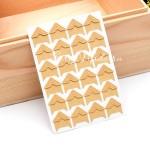 Уголки для фото Крафт, размер  видимой части уголка 15х15 мм.,  24 шт., VT000398