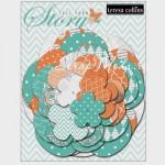 Высечки Бумажные Цветы 412, коллекция Tell Your Story, размер от 30 до 85, 36 шт., Teresa Collins