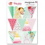 Лист Bunting Flags с картинками Baby claire, 15 шт., размер листа 125х180, Pretty Little Studio, VT000487